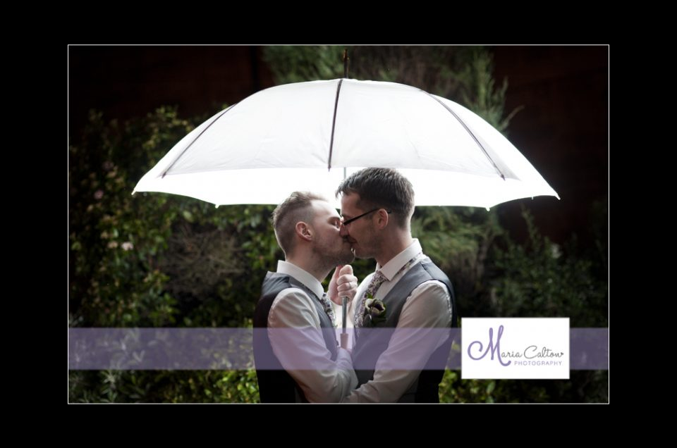 wedding tankersley manor umbrella photo