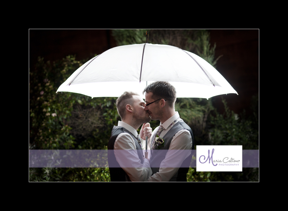 wedding tankersley manor umbrella photo